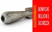 BONIFICHE BELLICHE E SICUREZZA - Aggiornamento coordinatori sicurezza cantieri e Rspp
