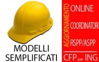 I modelli semplificati di P.S.C., P.O.S., P.S.S. e Fascicolo. Il Pi.M.U.S. e la sicurezza dei ponteggi (Aggiornam.Coordinatori e RSPP) - CFP INGEGNERI